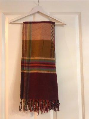 Accessorize Bufanda de flecos multicolor