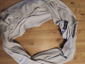 Barbara Speer Écharpe ronde crème-beige clair laine