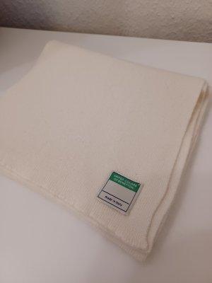 Schal von Benetton, wollweiß
