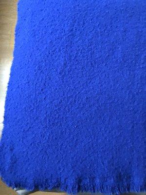 COS Wollen sjaal blauw