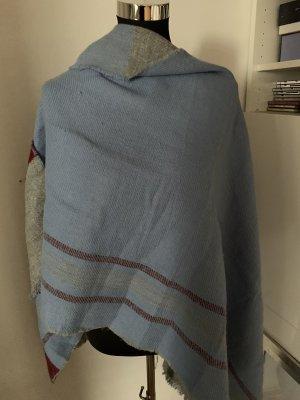 Esprit Wollen sjaal grijs-azuur