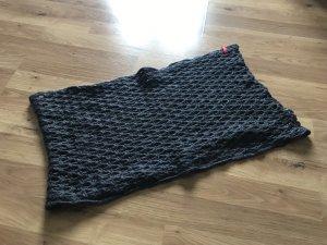 Esprit Bufanda tubo gris-gris oscuro