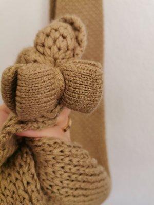Friis & Company Écharpe en crochet beige