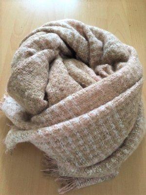 Hallhuber Bufanda de lana nude-beige Acrílico