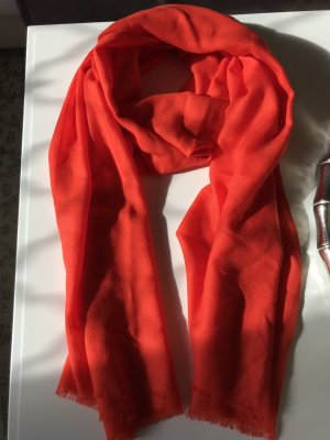Hallhuber Chal veraniego rojo Viscosa