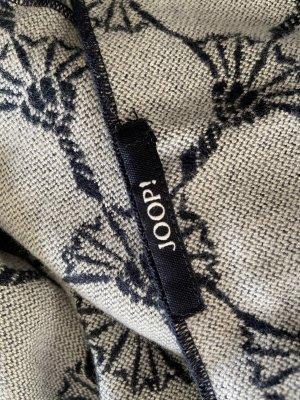 Joop! Woolen Scarf dark blue-white
