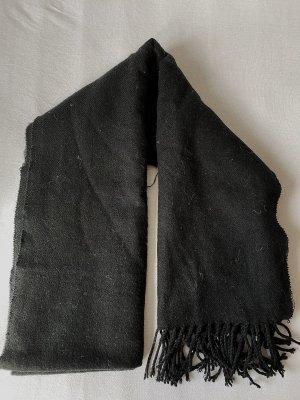 Mango Bufanda de lana negro