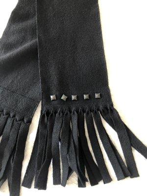 Marc Cain Écharpe en laine noir laine