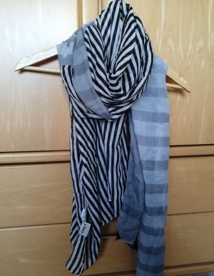 Be only Zijden sjaal veelkleurig