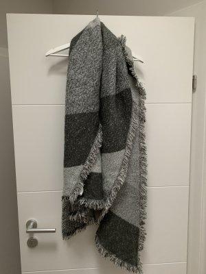 Opus Woolen Scarf grey-light grey
