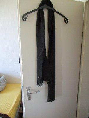 Puma Écharpe à franges noir