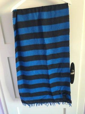 Schal von Tommy Hilfiger blau gestreift