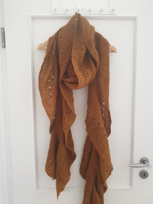 Zara Knitted Scarf brown