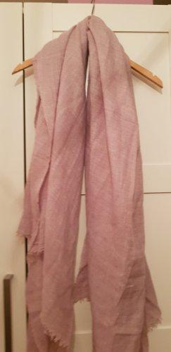 Zara Sciarpa di lana color oro rosa