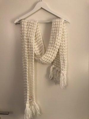 Tally Weijl Écharpe en tricot blanc