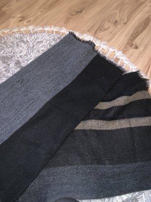 Zara Bufanda de lana marrón claro-marrón