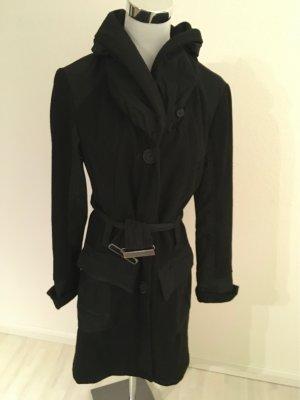 Schalkragen 54% Wolle Mantel von RESET