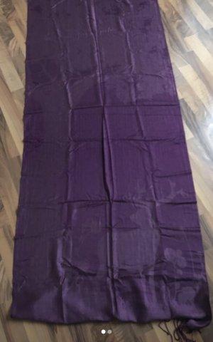 Artdeco Écharpe à franges violet