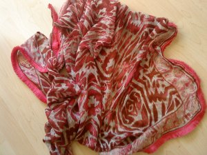 Schaltuch rot pink
