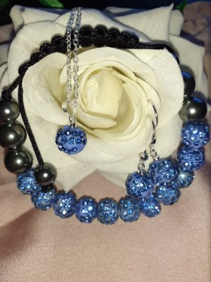 Pearl Necklace azure