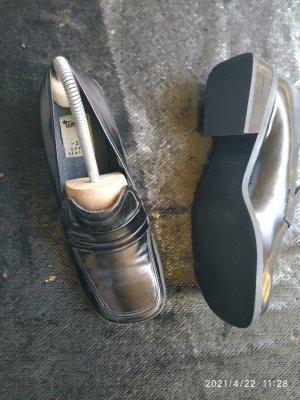 Tamaris Zapatos sin cordones negro Cuero