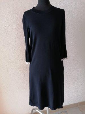 COS Vestido línea A blanco-negro