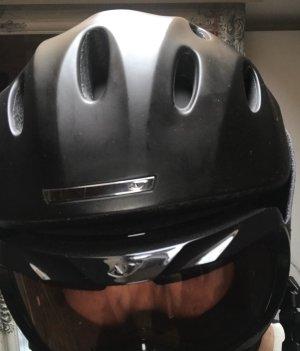 Schi Helm Giro schwarz Gr S passende Schibrille dazu  in schwarz