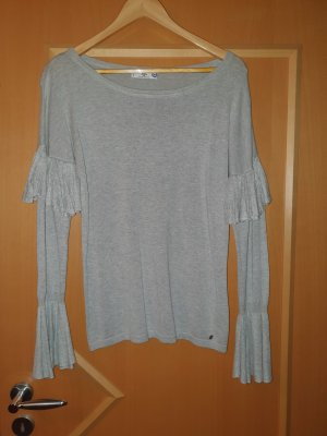 AJC Long Sweater silver-colored
