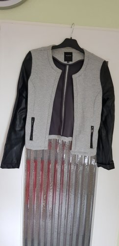 Schick/Sportliche Jacke mit Lederimitat