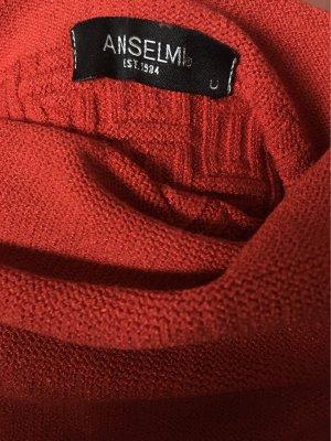 Sukienka z dzianiny czerwony