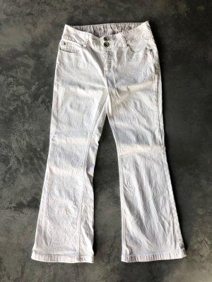 Schick und Modern Street One Marke tolle Passform Hochwertige weiße Jeans etwas Stretch, nicht durchsichtig! gr 38 / 40