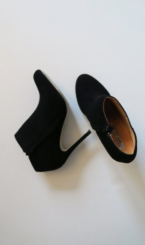Buffalo High Heels black leather