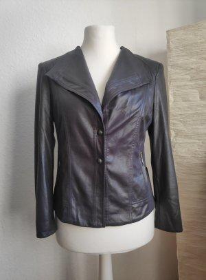 Apanage Leather Blazer multicolored