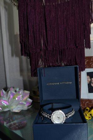 Adrienne Vittadini Reloj analógico color plata