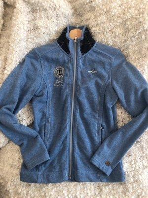 Schicke babyblaue Sweatshirtjacke JANICA von HV Polo