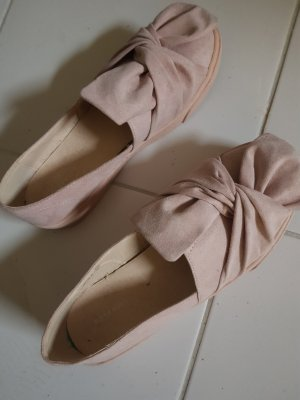Reserved Ballerines pliables vieux rose