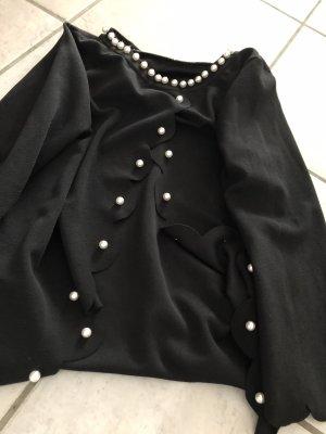 Połyskująca bluzka czarny