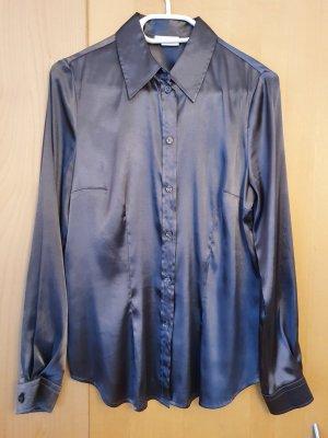 Alba Moda Blusa brillante grigio scuro