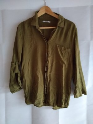 Schicke Bluse in Khaki