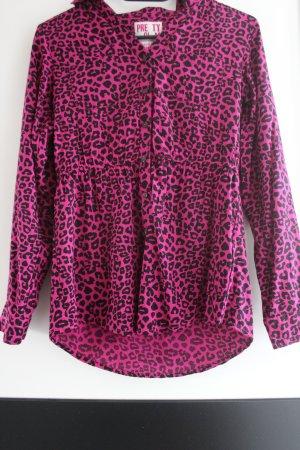Schicke Bluse in Leopardenlook