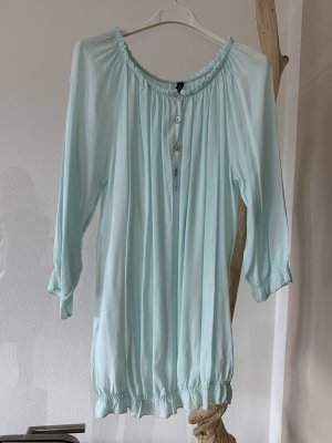 Schicke Bluse .. mintfarbend .. Gr. M/L #Made in Italy# Autumn