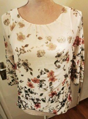 Schicke Bluse mit Blumenprint