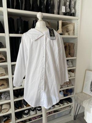 jeanskraft Bluzka ze stójką biały