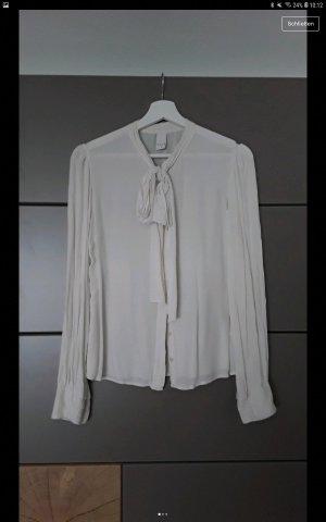 Vila Linen Blouse white-natural white