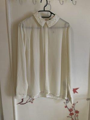 Amisu Cols de blouses blanc