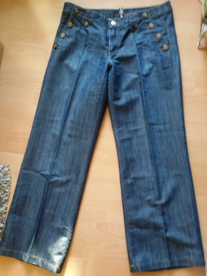 Bogner pantalón de cintura baja azul