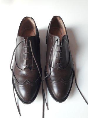 Hugo Boss Zapatos Budapest marrón oscuro
