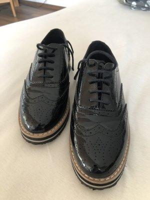 Anna Field Chaussures à lacets noir