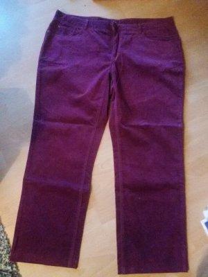 Christian Berg Five-Pocket Trousers raspberry-red-magenta