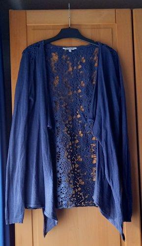 Review Giacca in maglia blu scuro